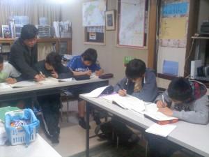 試験対策授業